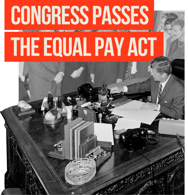 The Congress Passes The Equal Pay Act
