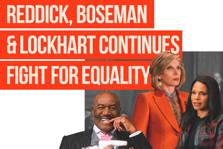 Reddick, Boseman & Lockhart Continues Fight For Equality